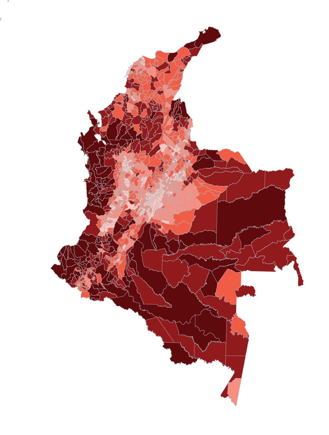 Subnational - Colombia