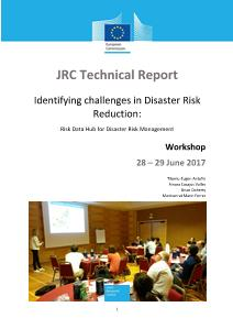 Identifying challenges in Disaster Risk Reduction: Risk Data Hub for Disaster Risk Management