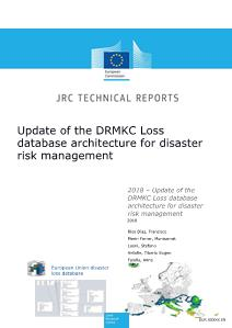 Update of the Disaster Risk Management Knowledge Centre loss database architecture for disaster risk management