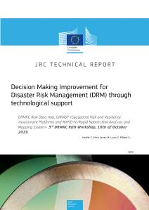 Decision Making Improvement for Disaster Risk Management (DRM) through technological support