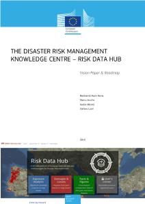 The Disaster Risk Management Knowledge Centre - Risk Data Hub: Vision Paper & Roadmap