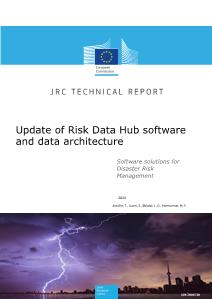 Update of Risk Data Hub software and data architecture